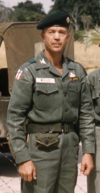 Col. Francis B. Mills, 1st Special Forces